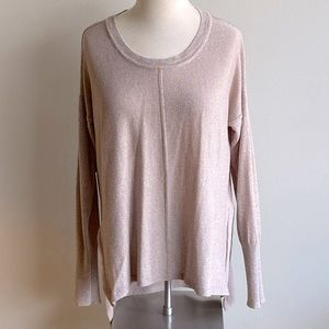 Revamped Sweater Knits Hi Low Long Sleeve